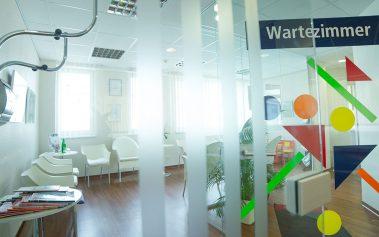 Eingang-Wartezimmer